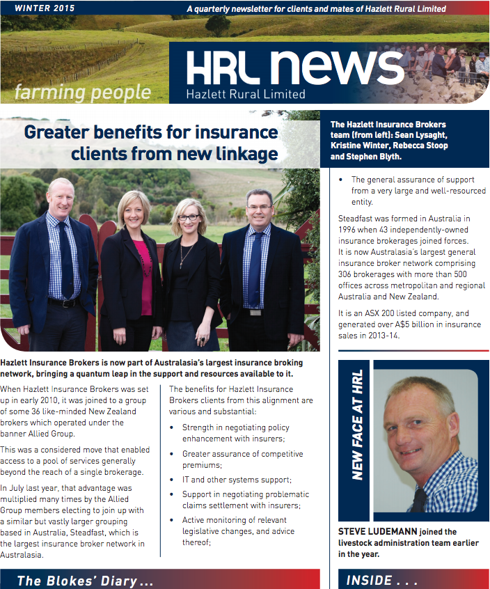HRL Newsletter Winter 2015